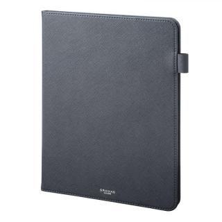 GRAMAS COLORS EURO Passione Book PUレザーケース ネイビー iPad Pro 2018 11インチ