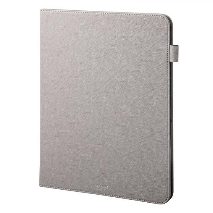 GRAMAS COLORS EURO Passione Book PUレザーケース グレー iPad Pro 2018 12.9インチ_0