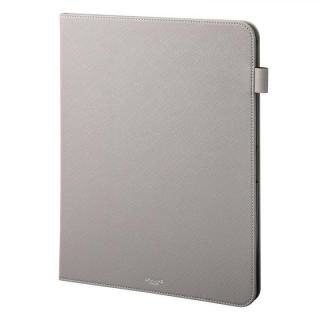 GRAMAS COLORS EURO Passione Book PUレザーケース グレー iPad Pro 2018 12.9インチ