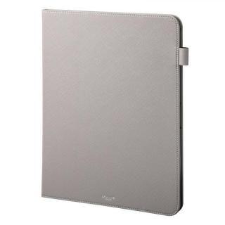 GRAMAS COLORS EURO Passione Book PUレザーケース グレー iPad Pro 2018 12.9インチ【6月下旬】