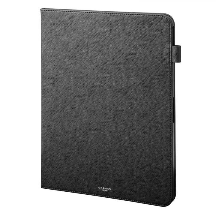 GRAMAS COLORS EURO Passione Book PUレザーケース ブラック iPad Pro 2018 12.9インチ_0