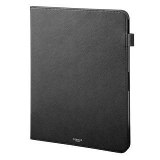 GRAMAS COLORS EURO Passione Book PUレザーケース ブラック iPad Pro 2018 12.9インチ