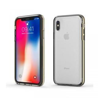 iPhone XS Max ケース ACHROME SHIELD プレミアムケース クロームゴールド iPhone XS Max