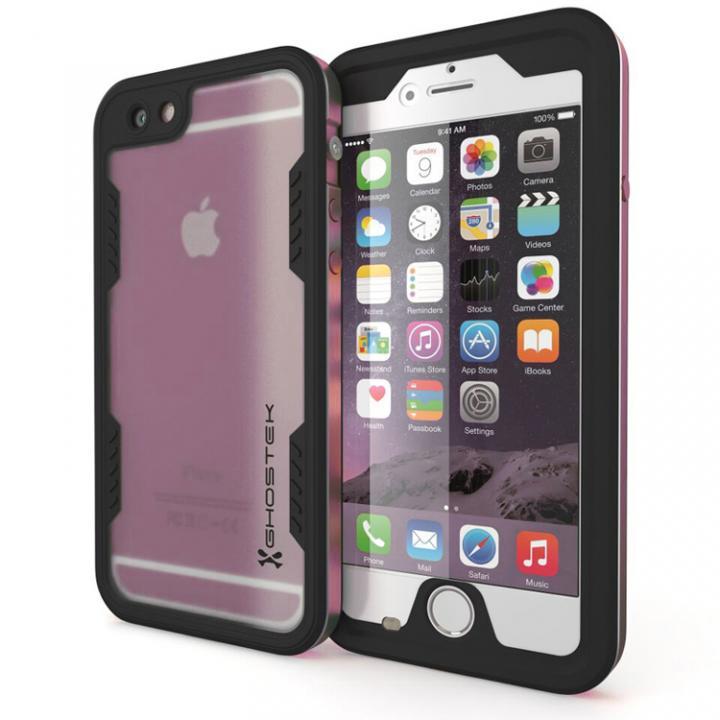 【iPhone6s Plus/6 Plusケース】防水/耐衝撃アルミケース Ghostek Atomic 2.0 ローズピンク iPhone 6s Plus/6 Plus_0