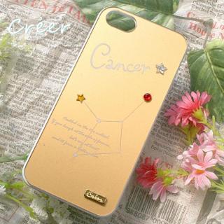 【iPhone5s ケース】「星降る夜」iPhone5ケース 蟹座