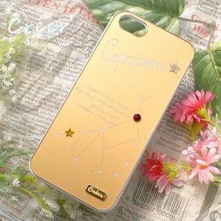 【iPhone SE/5s/5ケース】「星降る夜」iPhone5ケース 山羊座