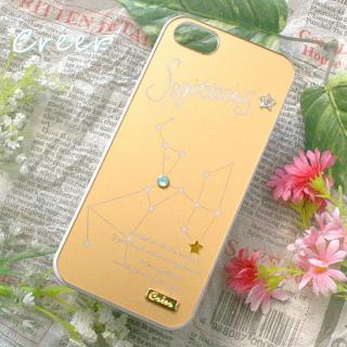 【iPhone SE/5s/5ケース】「星降る夜」iPhone5ケース 射手座