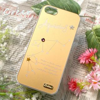 【iPhone SE/5s/5ケース】「星降る夜」iPhone5ケース 水瓶座
