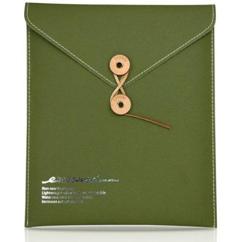Non-Tear Envelope iPad2,第3,4世代 Olive Green_0