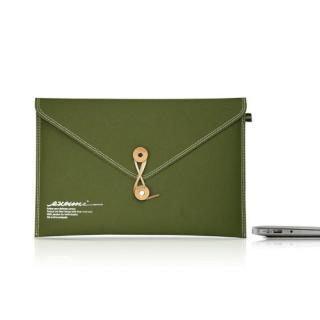 Non-Tear Envelope Mac Air 13 Olive Green
