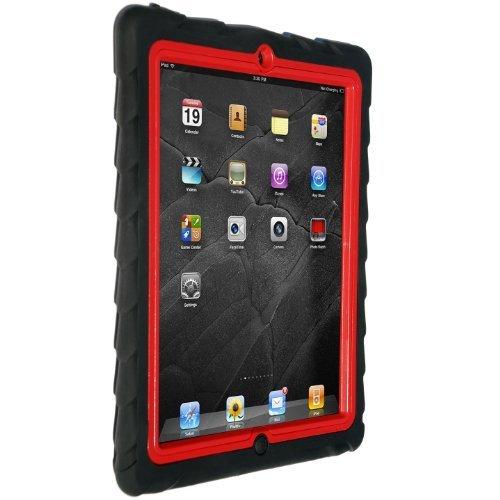 Gumdrop Drop Tech Series iPad2,第3,4世代 レイヤーケース ブラック/レッド_0