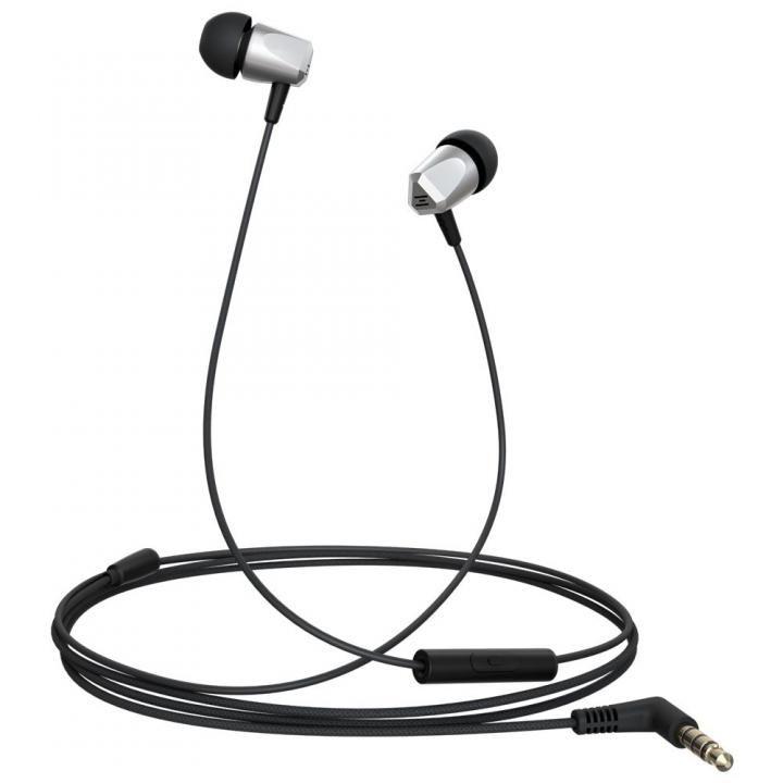 金属ハウジング採用のハイレゾ音源対応高音質イヤホン Samu SE01 ハンズフリー通話可能 SE01シリーズ_0