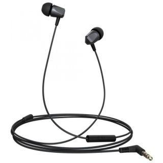 金属ハウジング採用のハイレゾ音源対応高音質イヤホン Samu SE01 ハンズフリー通話可能 ブラック