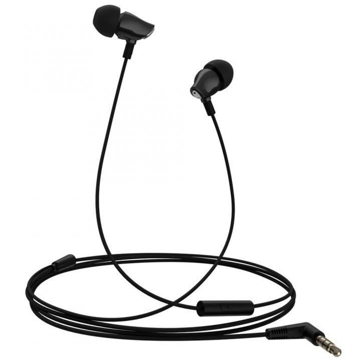 セラミックハウジング採用のハイレゾ音源対応高音質イヤホン ハンズフリー対応 Samu SE02 ブラック_0