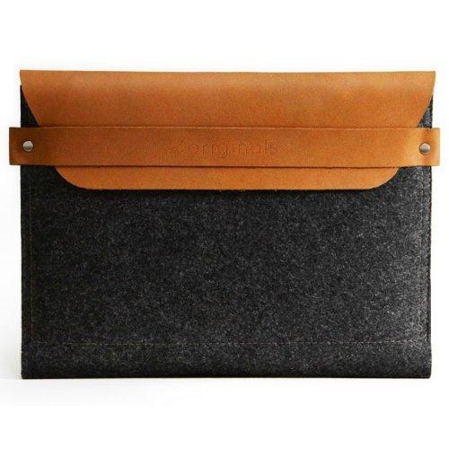 Mujjo 【iPad 2/3/第4世代iPad用スリーブ型ケース】 ブラウン MJ-0205