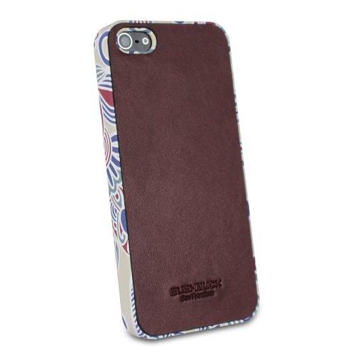 【iPhone SE/5s/5ケース】本革ケース Bushbuck Jester シェニュインレザー アンバー iPhone 5ケース_0