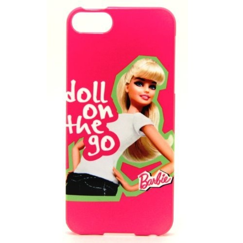 Rearth バービーケース barbie My Sweet Smart iPhone5 WHシャツ/RED
