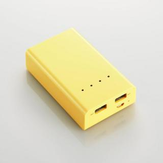 [5200mAh]モバイルバッテリー 2A DE-M01L-5220 イエロー