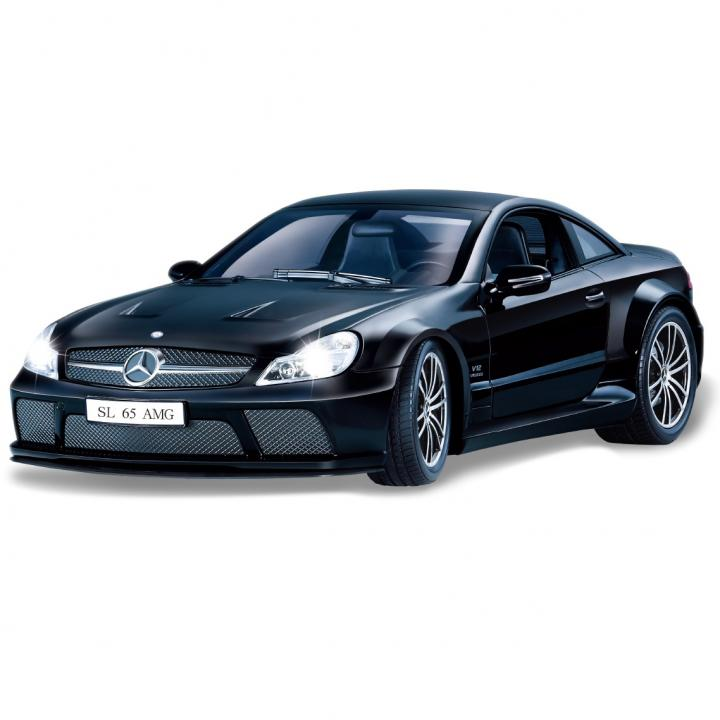 スマート・トイ - Benz SL65黒(Smart Toy Benz SL65 Black)