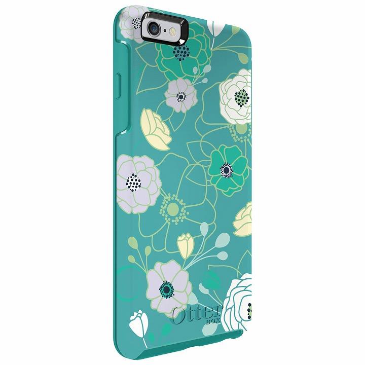 iPhone6 Plus ケース 耐衝撃ケース OtterBox Symmetry グラフィック ライトティール iPhone 6 Plus_0
