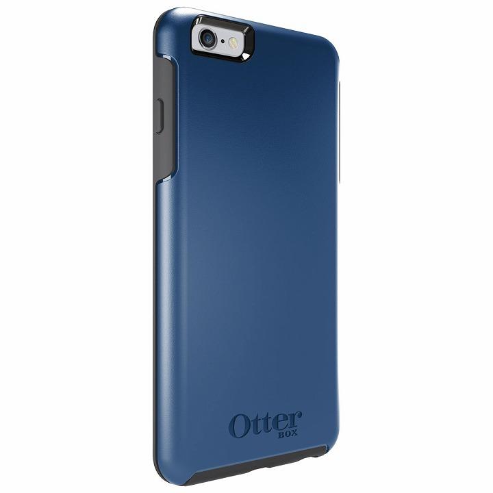 耐衝撃ケース OtterBox Symmetry ベーシック ディープウォーターブルー iPhone 6 Plus