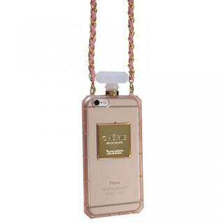 パフュームボトル チェーン付きケース ピンク iPhone 6ケース