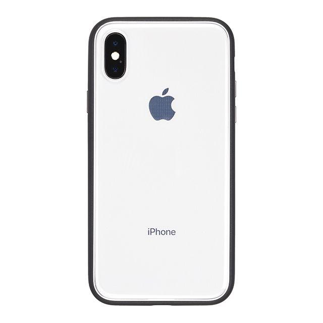 【iPhone Xケース】パワーサポート Shock proof Air jacket ラバーブラック iPhone X_0