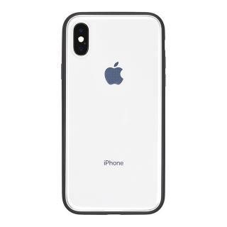 iPhone X ケース パワーサポート Shock proof Air jacket ラバーブラック iPhone X