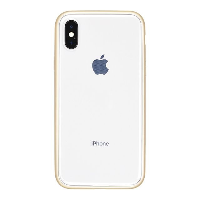 iPhone X ケース パワーサポート Shock proof Air jacket ラバーゴールド iPhone X_0