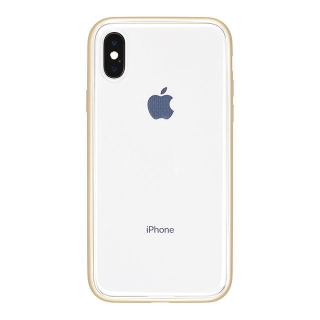 iPhone X ケース パワーサポート Shock proof Air jacket ラバーゴールド iPhone X_0