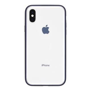 iPhone X ケース パワーサポート Shock proof Air jacket ラバーネイビー iPhone X