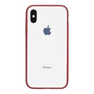 【iPhone Xケース】パワーサポート Shock proof Air jacket ラバーレッド iPhone X