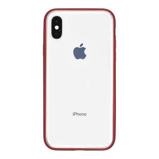 パワーサポート Shock proof Air jacket ラバーレッド iPhone X