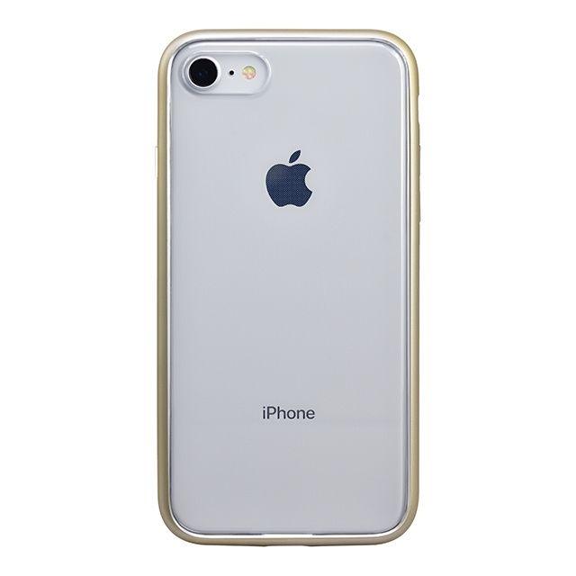 iPhone8 ケース パワーサポート Shock proof Air jacket ラバーゴールド iPhone 8_0