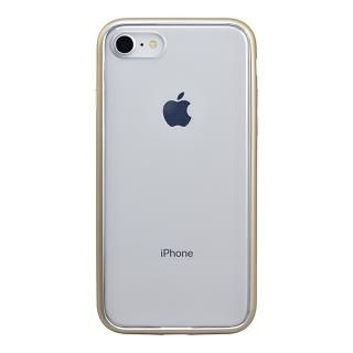 iPhone8 ケース パワーサポート Shock proof Air jacket ラバーゴールド iPhone 8