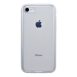 iPhone8 ケース パワーサポート Shock proof Air jacket ラバーシルバー iPhone 8