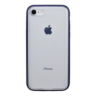 iPhone8 ケース パワーサポート Shock proof Air jacket ラバーネイビー iPhone 8