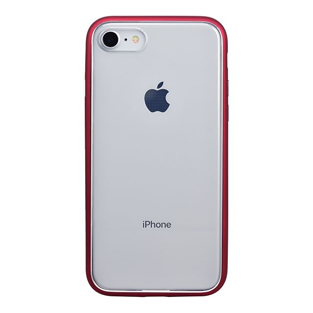 iPhone8 ケース パワーサポート Shock proof Air jacket ラバーレッド iPhone 8_0