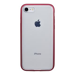 iPhone8 ケース パワーサポート Shock proof Air jacket ラバーレッド iPhone 8