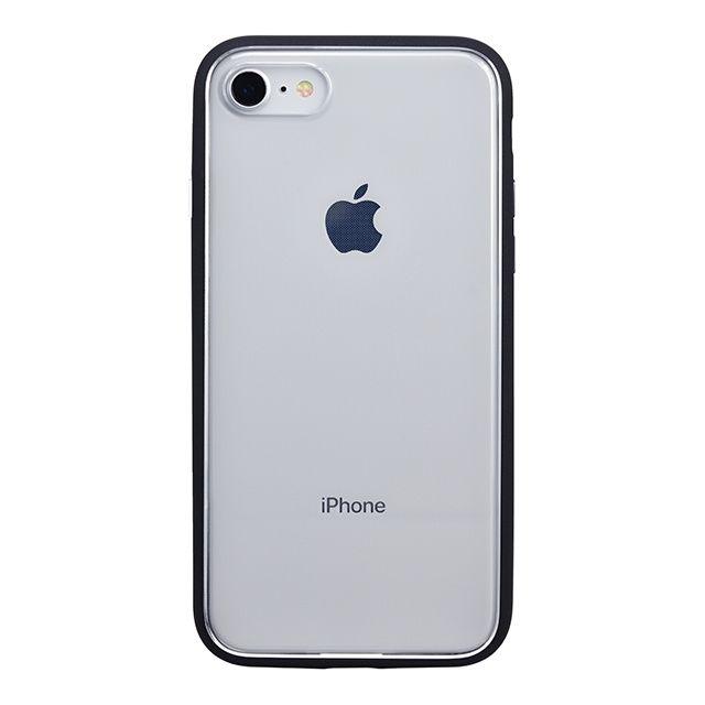 iPhone8 ケース パワーサポート Shock proof Air jacket ラバーブラック iPhone 8_0