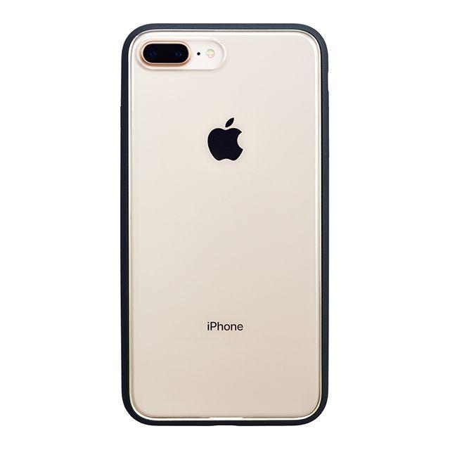 【iPhone8 Plusケース】パワーサポート Shock proof Air jacket ラバーブラック iPhone 8 Plus【2月下旬】_0