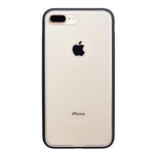 パワーサポート Shock proof Air jacket ラバーブラック iPhone 8 Plus【3月上旬】