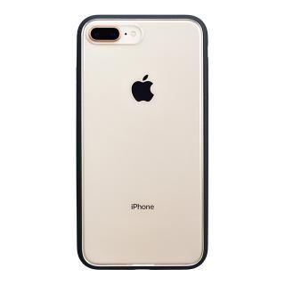 iPhone8 Plus ケース パワーサポート Shock proof Air jacket ラバーブラック iPhone 8 Plus【10月上旬】