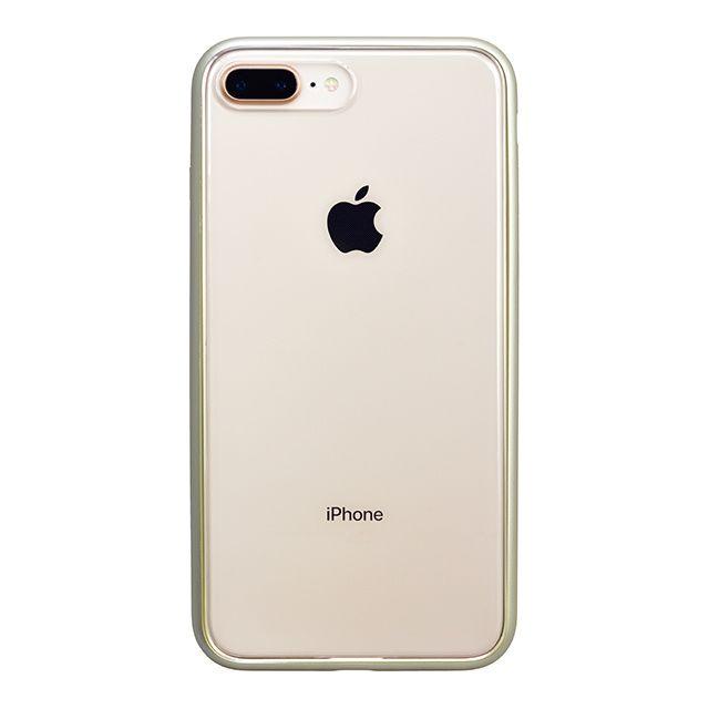 iPhone8 Plus ケース パワーサポート Shock proof Air jacket ラバーゴールド iPhone 8 Plus_0