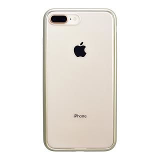 iPhone8 Plus ケース パワーサポート Shock proof Air jacket ラバーゴールド iPhone 8 Plus