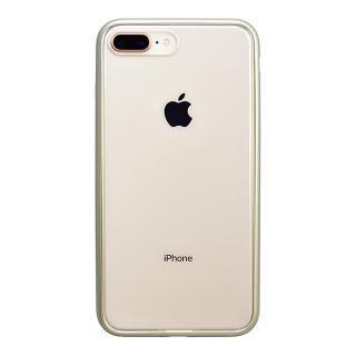 【iPhone8 Plusケース】パワーサポート Shock proof Air jacket ラバーゴールド iPhone 8 Plus