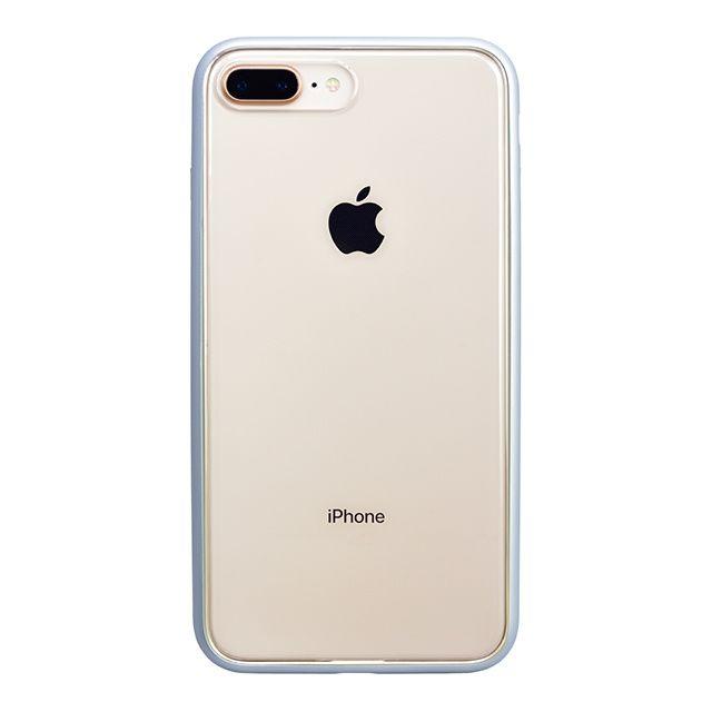 【iPhone8 Plusケース】パワーサポート Shock proof Air jacket ラバーシルバー iPhone 8 Plus_0