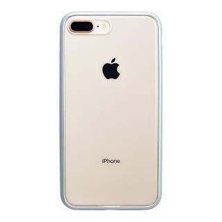 【iPhone8 Plusケース】パワーサポート Shock proof Air jacket ラバーシルバー iPhone 8 Plus