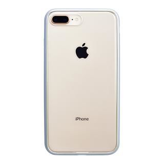 iPhone8 Plus ケース パワーサポート Shock proof Air jacket ラバーシルバー iPhone 8 Plus