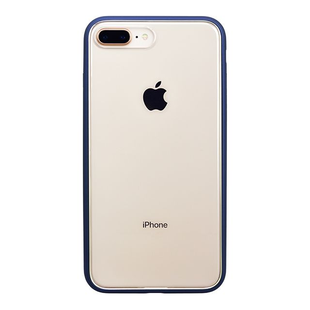 iPhone8 Plus ケース パワーサポート Shock proof Air jacket ラバーネイビー iPhone 8 Plus_0